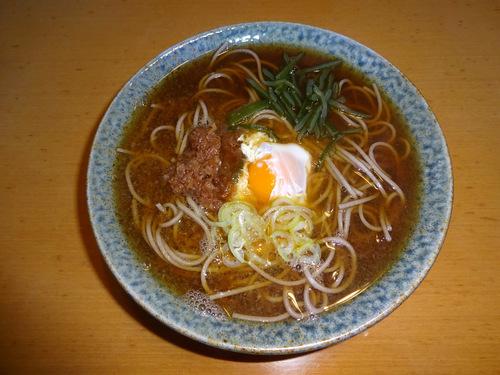 瀧澤食品@長野県 (6)とろろ入りざるそば処300ちょい.JPG