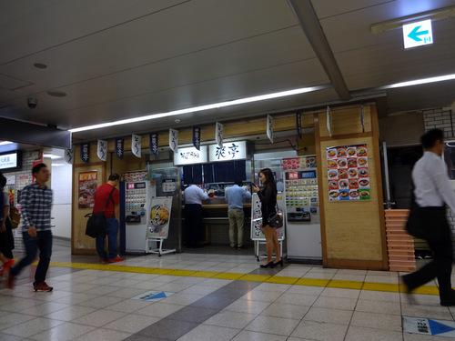 爽亭@池袋 (1)海鮮かき揚げ天そば440.JPG