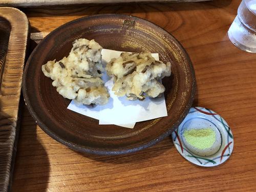 紅葉屋@御岳山 (16)とろろそば980大盛250舞茸天ぷら350いちごミルク600ゆず600.jpg