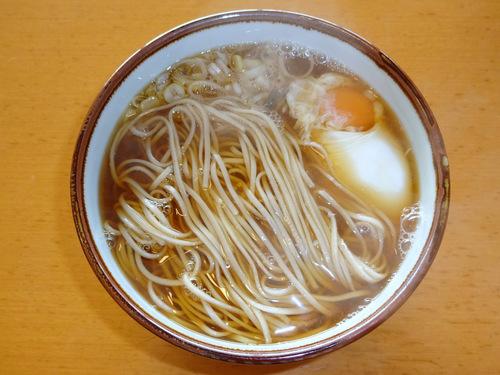 蓮実麺業@茨城県 (7)納豆そば378.JPG