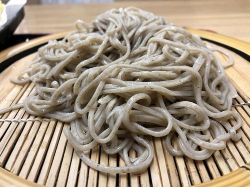 蕎麦こばやし@高田馬場 (8)えのき天そば冷500.jpg
