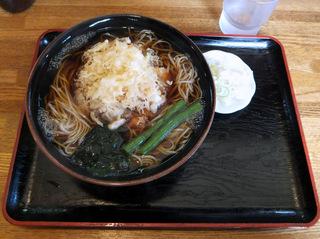 蕎麦政@南花畑(3)天ぷらそば430.JPG