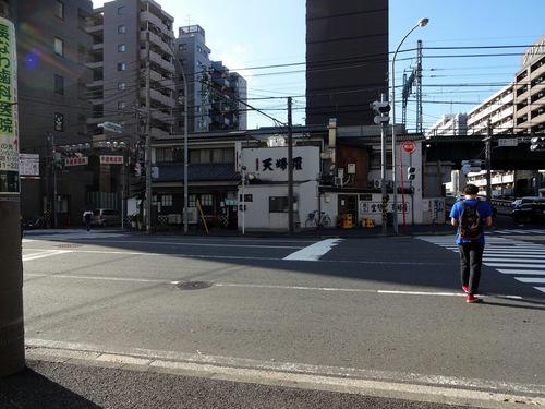 角平@横浜 (1)かき揚げつけ天そば1370瓶ビール630.JPG