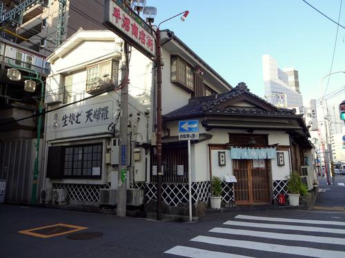 角平@横浜 (27)かき揚げつけ天そば1370瓶ビール630.JPG