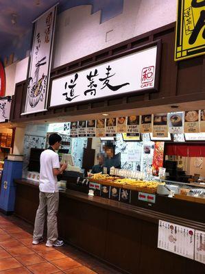 道蕎麦@台場(2)かき揚げそば580ウィンナー100.JPG