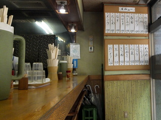 野むら@浅草橋(8)かけそば280冷やし100メンチ100ちくわ100ソーセージ80.JPG