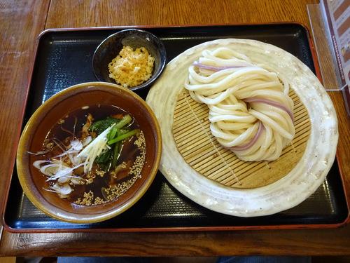長谷川@大泉学園 (20)糧うどん冷730揚げ玉50.JPG